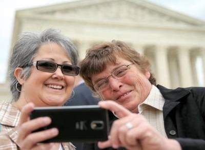 News video: SUPREME COURT SAME-SEX MARRIAGE CASE